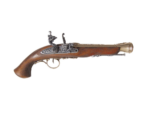Denix 18th Century Brass Flintlock - Non-Firing Replica Gun