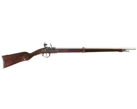 Denix - Napoleon's Single Shot French Flintlock Rifle - Non-Firing Replica Gun