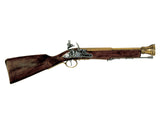 Denix Brass Trim Pirate Boarding Blunderbuss - Non-Firing Replica Gun - MaxArmory