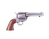 Denix - Old West Frontier Replica Antique Grey Revolver - Non-Firing Replica Gun