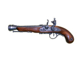 Denix - Left-Handed Pirate Flintlock Blunderbuss Antique Gray Finish - Non-Firing Replica Gun