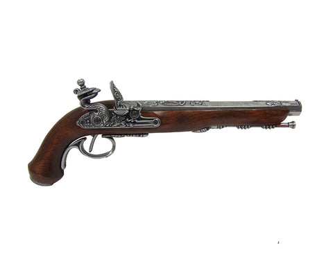 Denix Grey French Dueling Pistol - Non-Firing Replica Gun