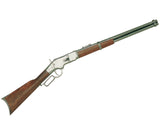 Denix - Old West Replica M1866 Gray Finish Lever Action Rifle Non-Firing Gun