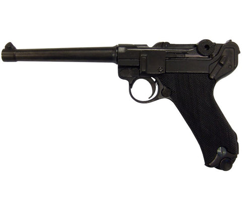 Denix Replica German Luger Naval Parabellum P-08 WWI - WWII Non-Firing Replica (Not Resin)