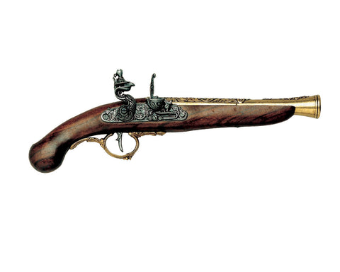 Denix GERMAN EARLY 1700'S FLINTLOCK PISTOL (Not Resin)