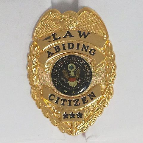 Clearance - Law Abiding Citizen Badge - MaxArmory
