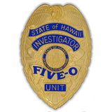 Hawaii Five-O Collector Badge - MaxArmory