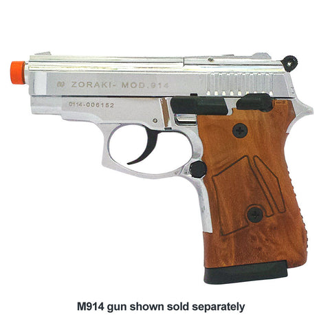 Zoraki M914 Simulated Wood Grip - MaxArmory