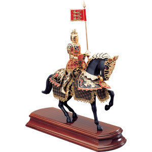 Miniature Black Prince Knight - MaxArmory