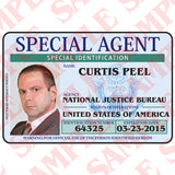 Special Agent ID Card