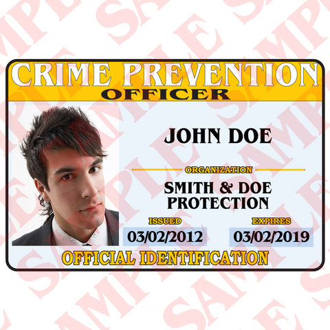 Crime Prevention ID
