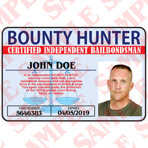 Bounty Hunter ID Card