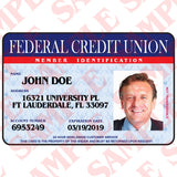 Federal Credit Union Member ID - MaxArmory