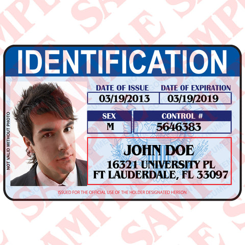 Identification Card - MaxArmory