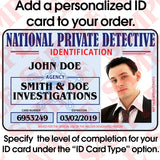 435 National Private Detective Badge Set