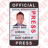 Official Press ID Card - MaxArmory