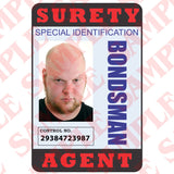 Surety Agent ID Card - MaxArmory