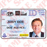Travel Agent ID Card