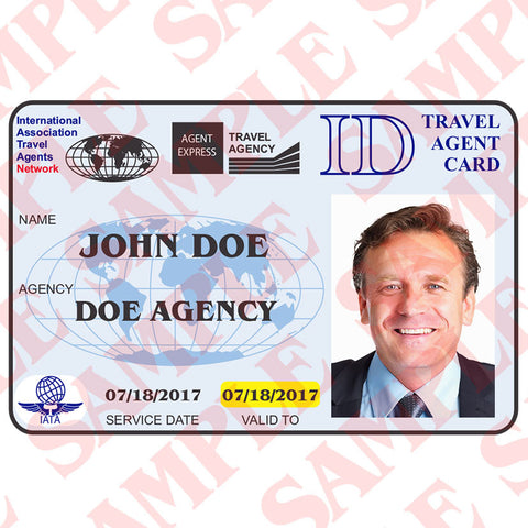 Travel Agent ID Card - MaxArmory