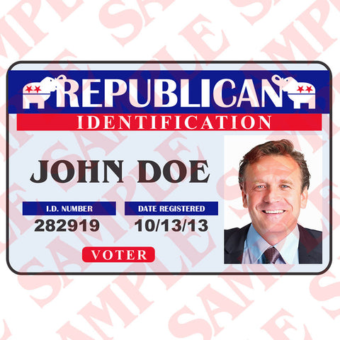Republican ID Card - MaxArmory