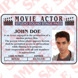 Movie Actor ID Card - MaxArmory
