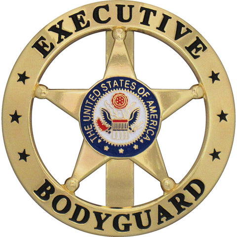 Marshal Executive Bodyguard Badge Set