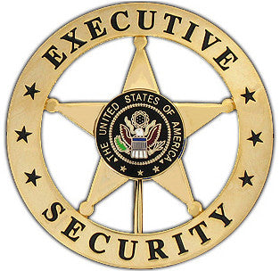 Marshal Executive Security Badge Set