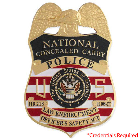 MX - Police National Concealed Carry Badge