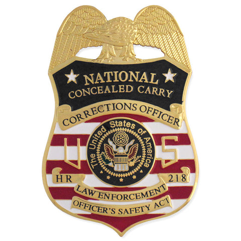 MX - Corrections Officer National Concealed Carry - MaxArmory