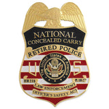 MX - Retired Police National Concealed Carry - MaxArmory