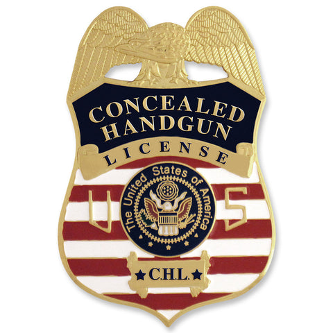 MX - Concealed Handgun License Badge - MaxArmory