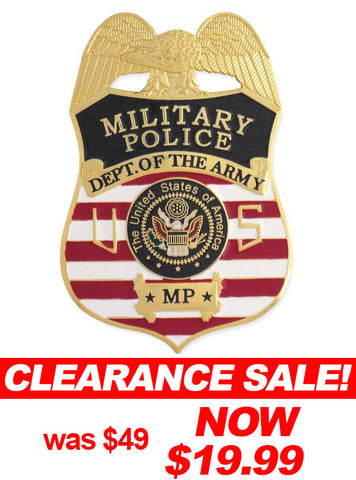 MX - Military Police/Army Badge