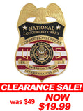 MX - Corrections Officer National Concealed Carry Badge