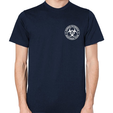 Custom Made Zombie Outbreak Response Team T-Shirt