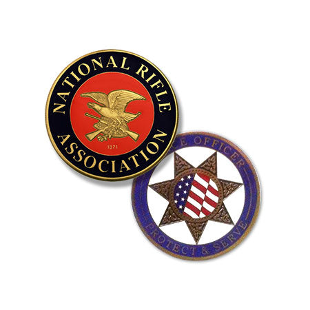 National Rifle Association (NRA) / Police Officer Protect & Serve Challenge Coin
