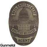 Bail Enforcement Fugitive Recovery Badge Set - MaxArmory