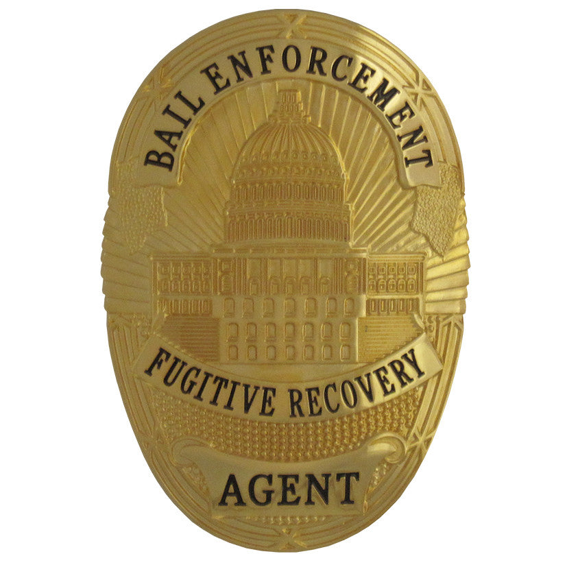 bail enforcement fugitive recovery badge set  u2013 maxarmory