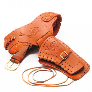 Right Draw Leather Holster/Belt - MaxArmory