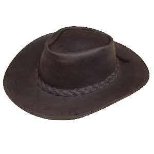 Western Leather Hat - MaxArmory