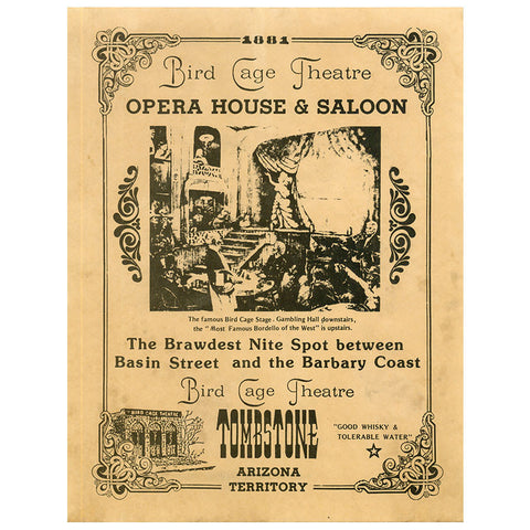 Closeout - Bird Cage Theatre - Old West High Quality Prints - MaxArmory