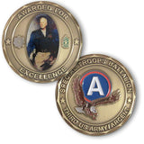General George S Patton Award for Excellence Medallion - MaxArmory