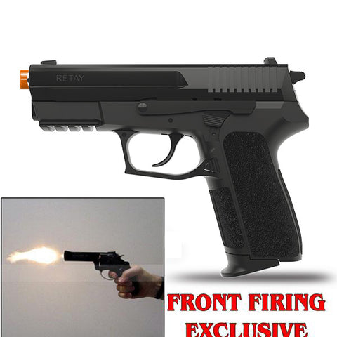 RETAY S2022 PANTHER Black - Front Fire 9mm Blank Firing Gun