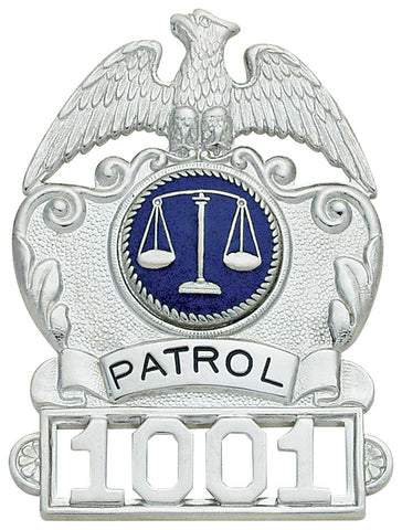 S105 - Custom Engraved Badge