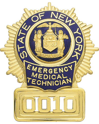S25EMT- Custom Engraved Badge
