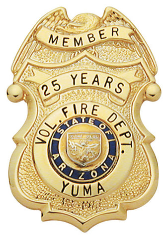 S274 - Custom Engraved Badge