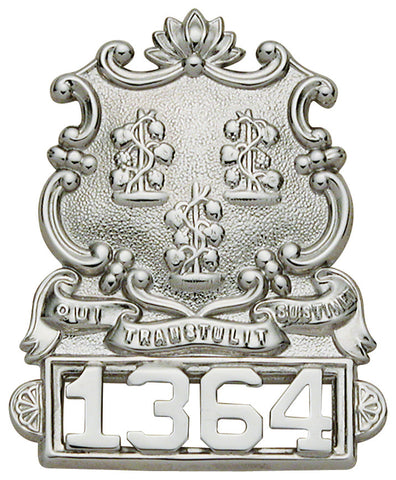 S40 - Custom Engraved Badge