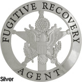 Marshal Style Fugitive Recovery Agent Badge Set - MaxArmory
