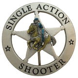 Clearance - Silver Single Action Shooter - Horse Center - MaxArmory