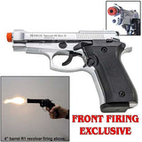EKOL SPECIAL 99 REV II Chrome - Front Firing 9mm Blank Firing Guns