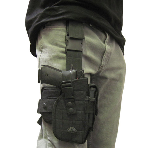 Thigh Pistol Holster - Black